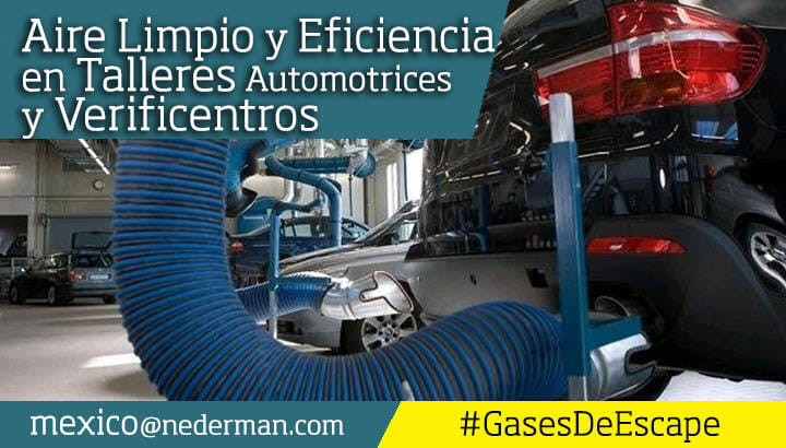 Nederman Mexico Extraccion Gases de Escape