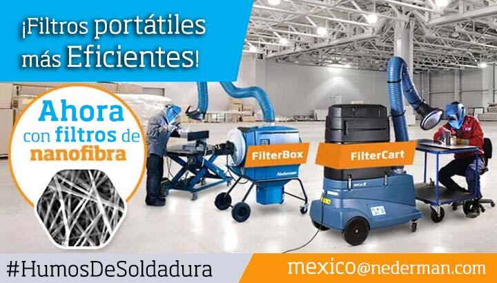 Nederman Mexico Extraccion Humos Soldadura Nanofibras
